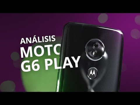 Motorola MOTO G6 PLAY: un nuevo Moto G5? [Análisis/Review en español]