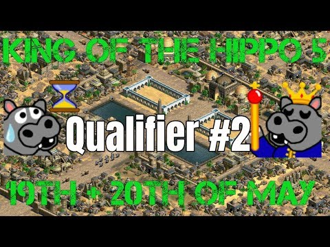 King of the Hippo 5   Qualifier #2 - Those tanky Teutonic Knights