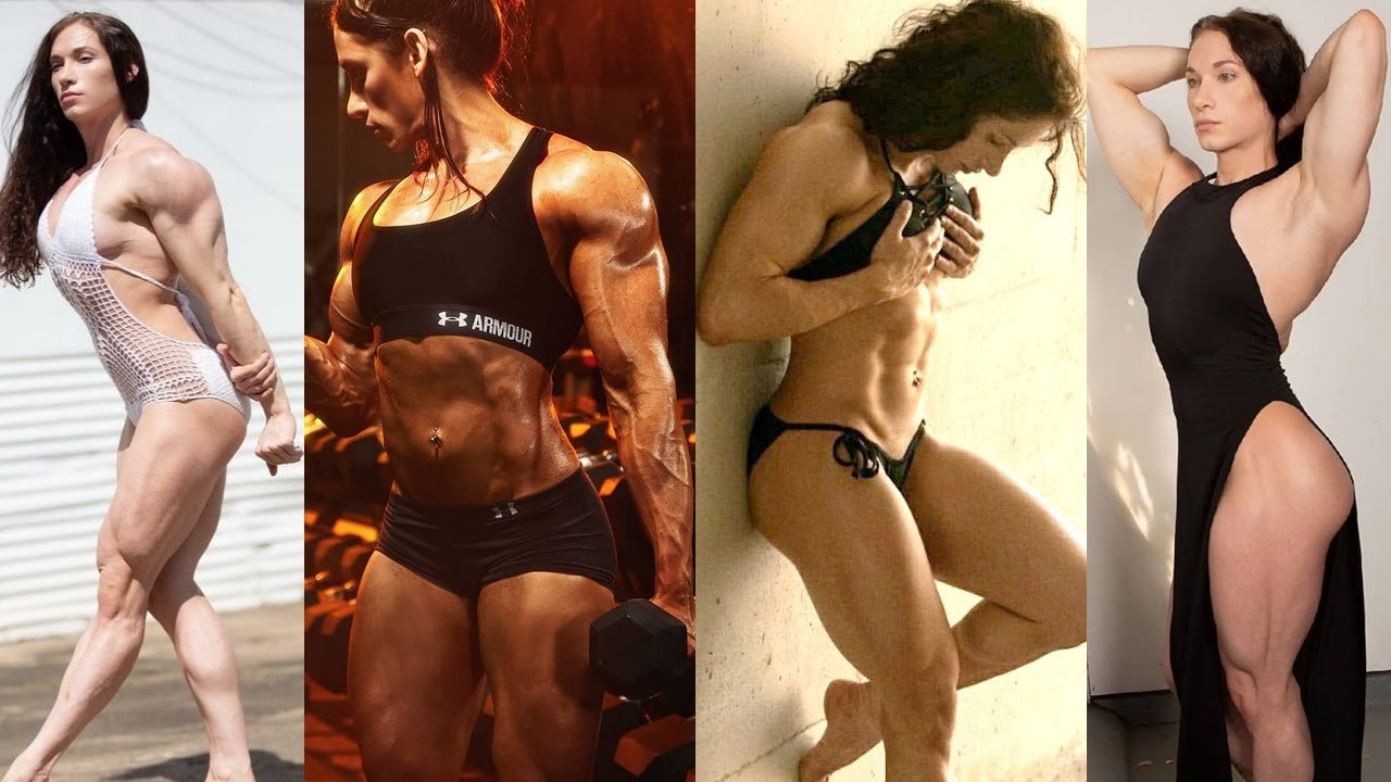 💘 💪🏼  Supreme Biceps   Triceps   Chest   Muscles Flexing 💪 Perfect Physique ~ Hannah Hussein  💥 🔥