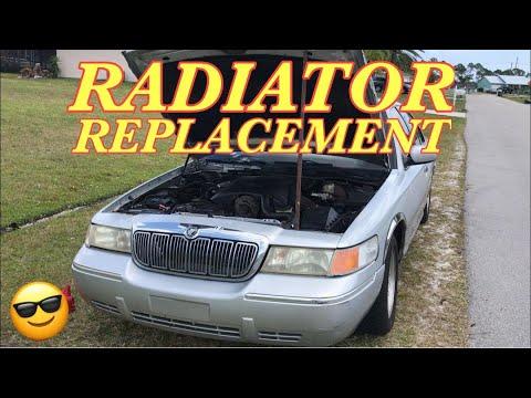 MERCURY GRAND MARQUIS RADIATOR REPLACEMENT – How to Replace a Radiator on Grand Marquis or Crown Vic