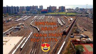 Mavic 2 Zoom Coney Island Brooklyn Train Yard