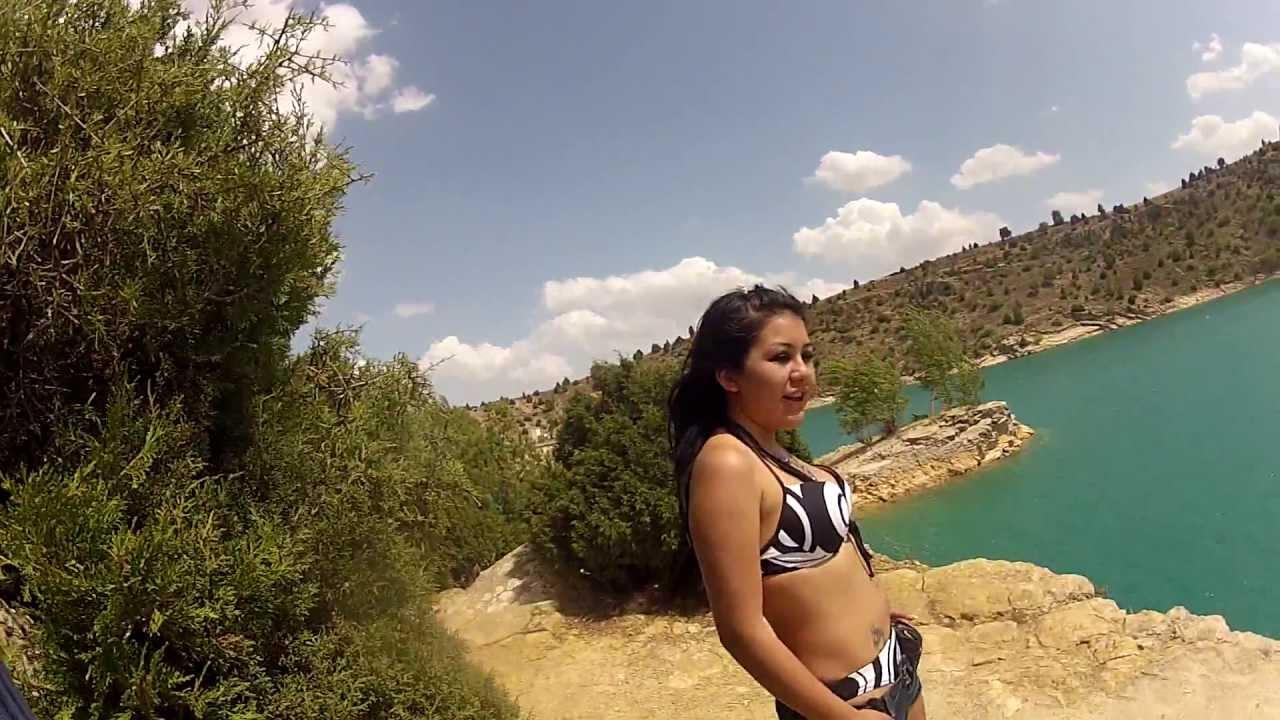 Salto Pantano San Blas Teruel Youtube