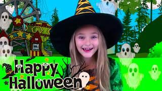 Sasha Pretend Play Halloween Trick or Treat Candy Park thumbnail
