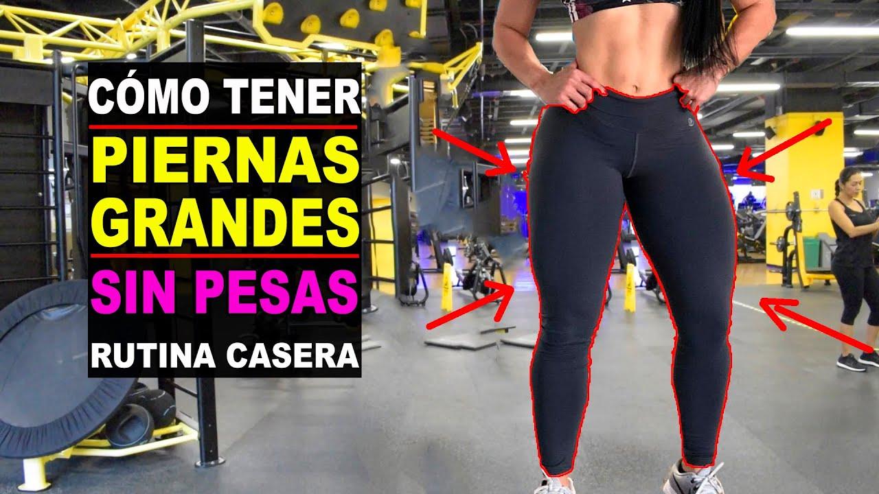 Cómo Engrosar Las Piernas Sin Pesas Piernas Grandes Y Bonitas Celulitis Leg Day Adryán Medellín Youtube