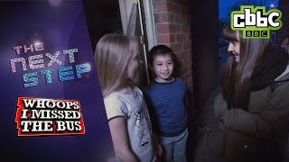 The Next Step's Ella surprises fans on WHOOPS I MISSED THE BUS - CBBC