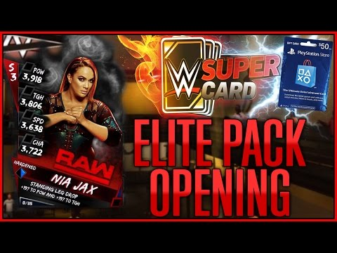 25,000 CREDIT PACK OPENING - WWE SUPERCARD SEASON 3
