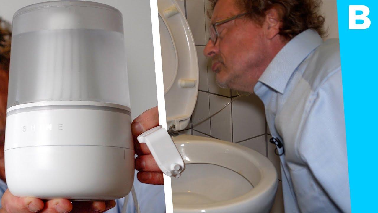 Altijd een schone WC met deze gadget: goed bedacht!