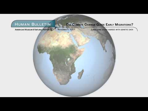 Science Bulletins: Did Climate Change Guide Early Migrations?