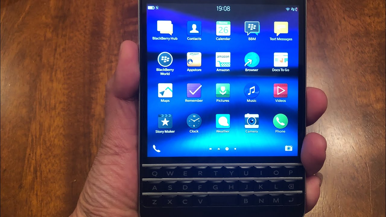 Blackberry Passport in 2019