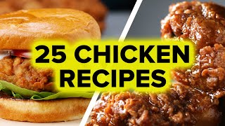 25 Chicken Recipes thumbnail