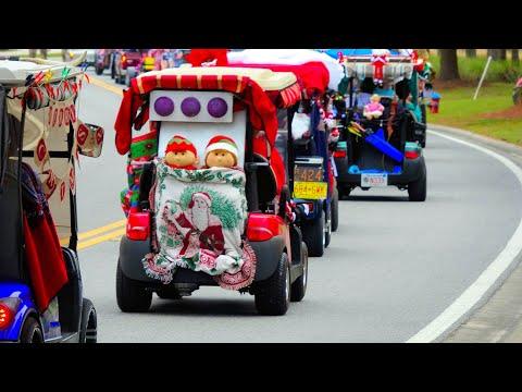 Christmas Golf Cart Parade At On Top Of The World Ocala FL