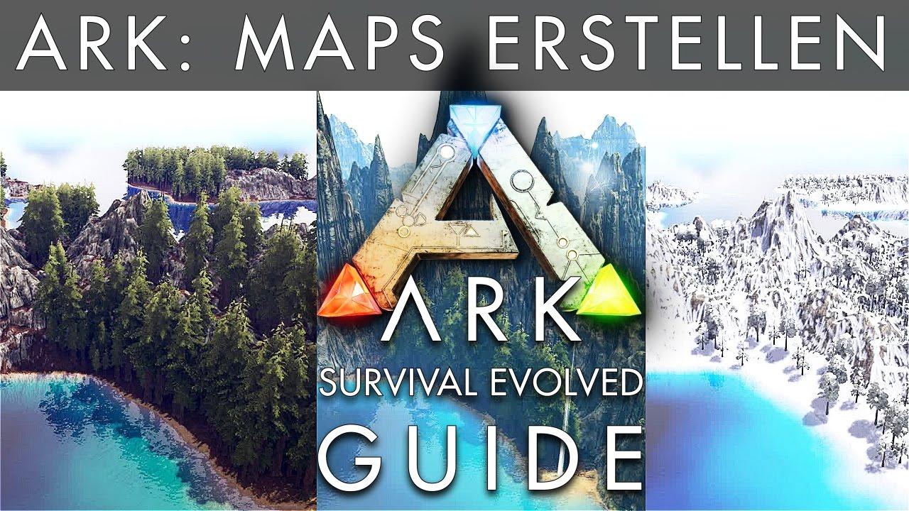 ark eigene map karte erstellen tutorial deutsch ark survival evolved youtube. Black Bedroom Furniture Sets. Home Design Ideas