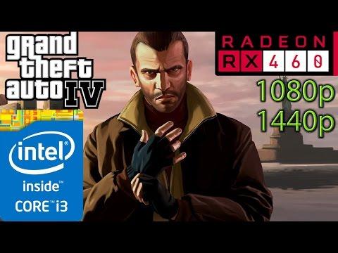 GTA 4 / IV : RX 460 - i3 (Simulated) - 1080p - 1440p - 동영상