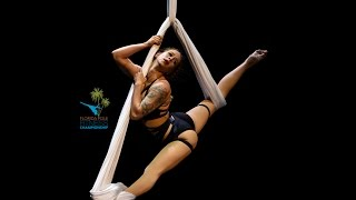 FPFC 2017 Aerial Silks Professional Division 3rd Place - Tempestt Halstead