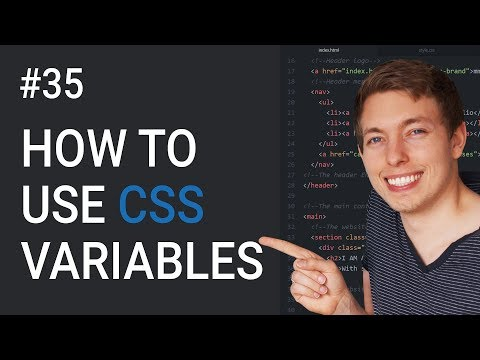 35: How To Create Variables In CSS | Create CSS Variables | Learn HTML & CSS | HTML Tutorial