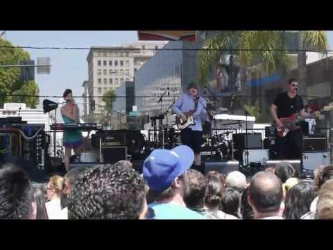 Ozma at Make Music Festival in Pasadena: Domino Effect