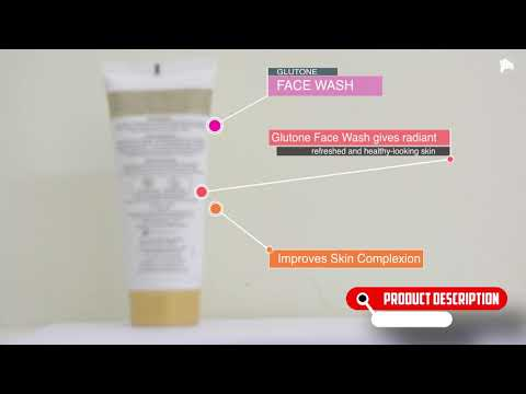 Glutone Face Wash | Dermawhite | Almond Protein | ClickOnCare