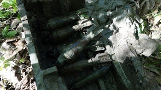 Павшие Солдаты на поверхности и в воронках, Раскопки Второй мировой