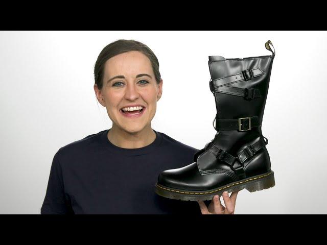 Dr. Martens Blake Tall Core Alt Black Buttero UK 7 (US