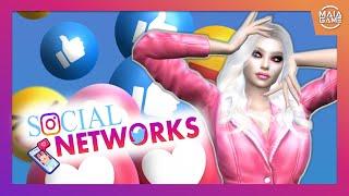 SIMS 4 | MODS MAÏA GAME | RÉSEAUX SOCIAUX ! 85 INTERACTIONS ! 📱😱