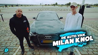 Milan Knol zijn Audi A5 S line TFSI || #DAY1 Afl. #9