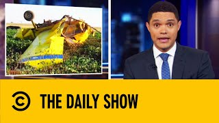 Download Gender Reveal Party Ends In Plane Crash | The Daily Show With Trevor Noah Mp3 and Videos