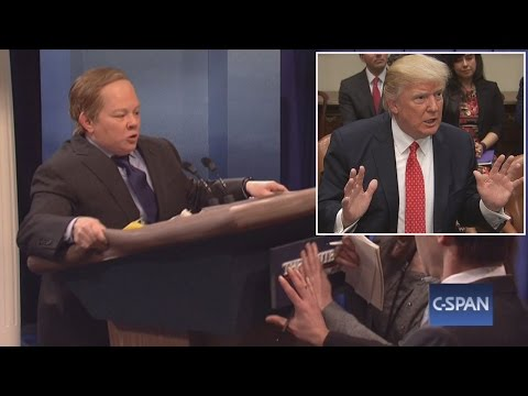 Thumbnail: Why President Trump Is Reportedly Upset With Sean Spicer After SNL Sketch