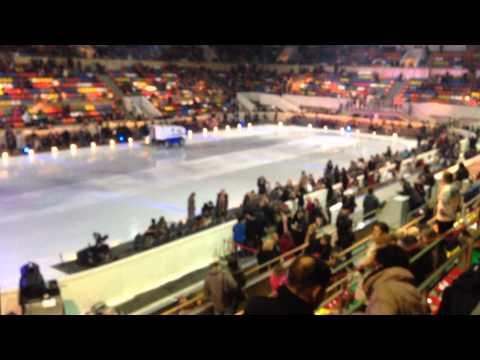 Лужники Малая спортивная арена Зал обзор с сектора А4
