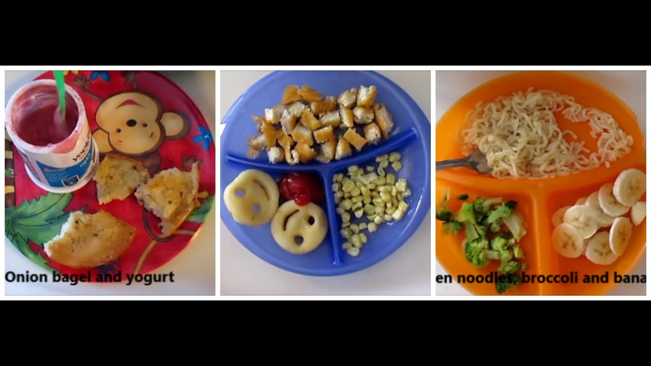 Superior Toddler Meal Ideas! (14 Months)   YouTube
