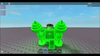 roblox Showcasing Hal Jordan.