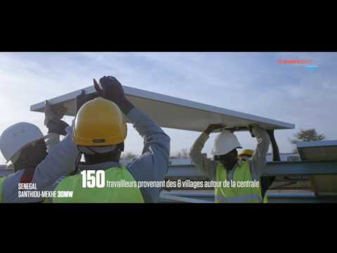 SOLAIREDIRECT Centrale Photovoltaique de SANTHIOU MEKHE Senegal
