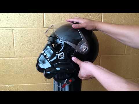 Shadow Trooper Custom Motorcycle Helmet