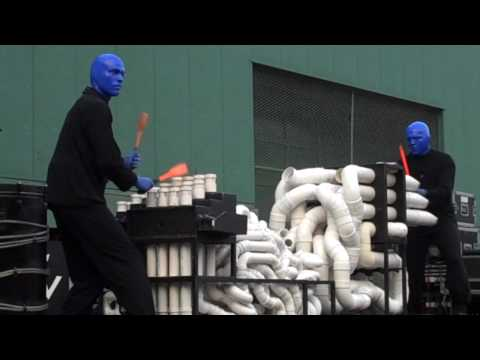 Blue Man Group Boston Fenway Picnic in the Park 2010