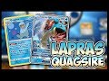 B U S T E D  D E C K - Lapras GX / Quagsire - Pokemon TCG Gameplay