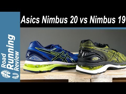 Asics Nimbus 20 In-Depth Review! (vs Nimbus 19 and 18) - YouTube