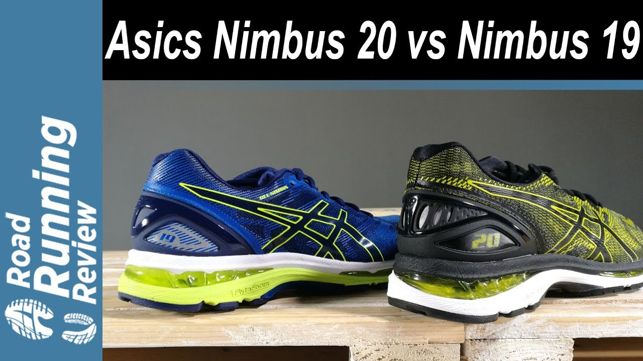 Comparativa Asics Gel Nimbus 19 vs Asics Gel Nimbus 20 - YouTube f795ba8156dbd