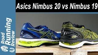 Comparativa Asics Gel Nimbus 19 vs Asics Gel Nimbus 20
