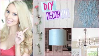 Diy Room Decor + Decorating Ideas! ♡ Collab With Misslizheart