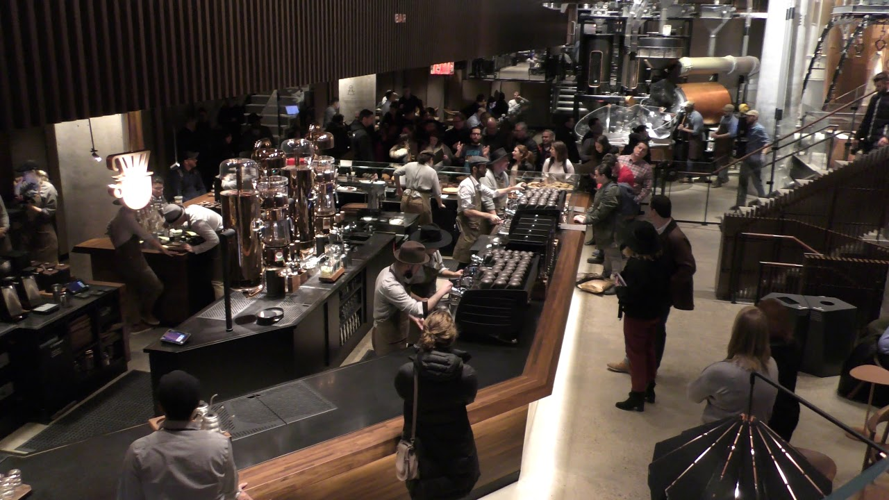 Starbucks opens Reserve Roastery in Chelsea, NYC