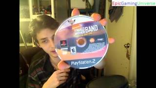 Unboxing The Naked Brothers Band The Video Game For The PlayStation 2