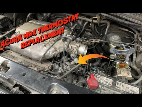 How to Replace the Thermostat on a 2001-2006 Acura MDX