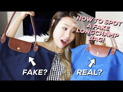 ALL ABOUT MY LONGCHAMP BAGS + HOW TO SPOT A FAKE!! | Life of Lily