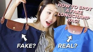 ALL ABOUT MY LONGCHAMP BAGS + HOW TO SPOT A FAKE!!   Life of Lily
