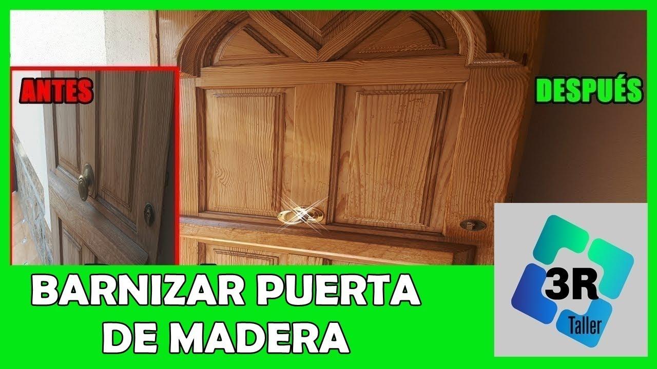 Como barnizar muebles de madera youtube for Como barnizar madera