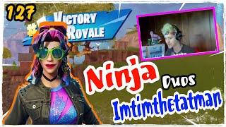 Ninja New Synth Star Skin Fortnite Game Play Duos Imtimthetatman