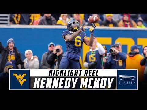 West Virginia RB Kennedy McKoy Highlight Reel - 2019 Season   Stadium