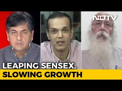 Reality Check: Slowing Growth, Leaping Sensex