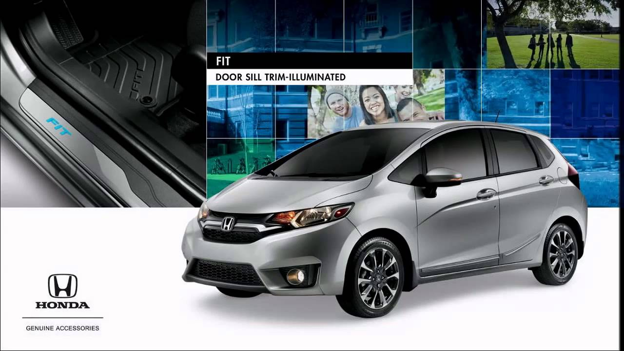 2015 Honda Fit Accessories - YouTube