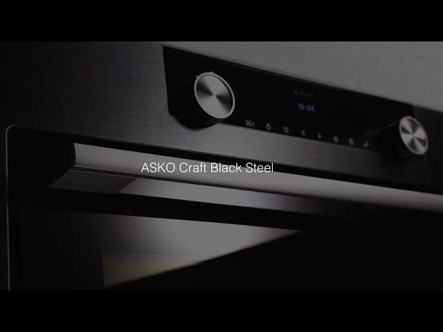 Техника Asko серии Craft черный