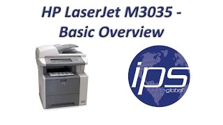 HP M3035 - Basic Overview